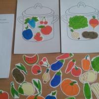 Дидактическая игра для детей младшего дошкольного возраста «Свари суп и компот»