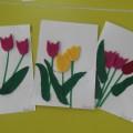 Мастер-класс «Тюльпаны для любимой мамочки!»