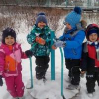 «Выпал снег». Фотоотчет о зимней прогулке