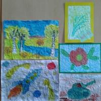 Мастер-класс для педагогов по изодеятельности с использованием нетрадиционных техник рисования по мокрой смятой бумаге
