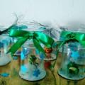 Совместный с детьми новогодний мастер-класс «Колокольчик на елку из одноразовых стаканчиков»