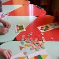 Карточки с геометрическим материалом.