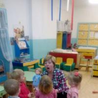 Фотоотчет проведения НОД по развитию речи во второй группе раннего возраста