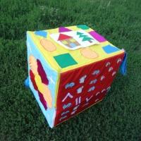 Дидактическое пособие по математике «Куб-развивайка»
