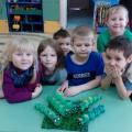 Мастер-класс «Гусеница» из картонных лотков для яиц