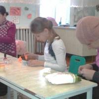 Мастер-класс с родителями воспитанников «Новогодние хлопоты вместе с детьми!»