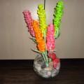 Цветы из цветной бумаги своими руками