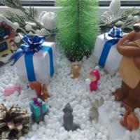 Фотоотчет о семейных поделках «Новогодняя сказка»