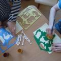 Мастер-класс по рисованию нетрадиционным методом «Животные жарких стран»