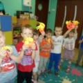 Игровые пособия для малышей «Витаминки». Мастер-класс с родителями детей средней группы