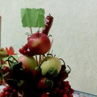 Фотоотчет о выставке поделок «Дары осени» в подготовительной группе