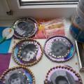 Интегрированное занятие в подготовительной к школе группе «Магниты на холодильник для мам»