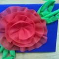 Мастер-класс «Мини-открытка ко Дню матери»