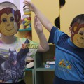 Мастер-класс «Маска обезьянки»