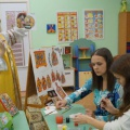 Мастер-класс для родителей «Городецкая роспись» (фотоотчет)