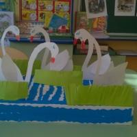 Конспект ОД по художественно-эстетическому развитию детей старшего дошкольного возраста «Лебединое озеро»