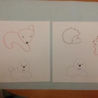 Конспект НОД по рисованию во второй младшей группе «Нарисую книжку про лису и мишку…»
