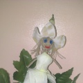 Кукла из проволоки «Дюймовочка». Мастер-класс