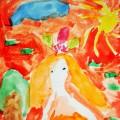 Фоторепортаж к НОД по рисованию акварельными красками «Портрет Осени»