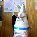 Изготовление космической ракеты из теплоизоляционного материала