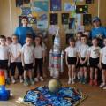 Физкультурный досуг «Ждут нас быстрые ракеты» (фотоотчёт)