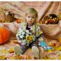 Фотоотчёт. Осенний уголок «Дары осени». Фотосессия