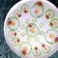 Мастер-класс 2. Декупаж стеклянного блюда «Цветочная полянка»
