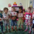 Фотоотчёт. Рисование с детьми младшего возраста «Вечный огонь для Героя солдата»