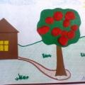 Лепка в младшей группе. Тема недели: «Моя малая Родина», тема занятия «Ягодки в моём саду созрели»