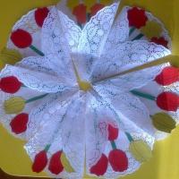 Мастер-класс по изготовлению подарка для мамы «Букет цветов»