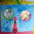 День Победы! Рисование «Спасская башня». Аппликация «Праздничный салют»