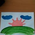 Конспект занятия по рисованию во второй группе раннего возраста «Солнышко— колоколнышко».