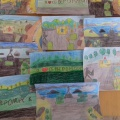 Конспект НОД по рисованию в старшей группе «Мое любимое место в городе»