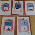 Конспект НОД по рисованию в старшей группе «Герб города Североморска»