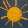 Конспект занятия по лепке «Солнышко»