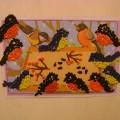 Коллективная работа по художественному творчеству «Птицы у кормушки»