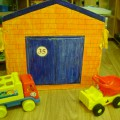 Ширма-гараж