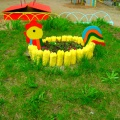 Оформление клумб на летнем участке