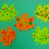 Художественное творчество «Кленовые листья»