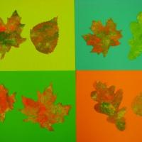 Нетрадиционное рисование «Осенние листья»