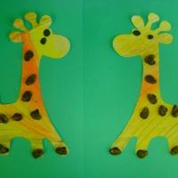 Художественное творчество с использованием природного материала «Животные жарких стран».