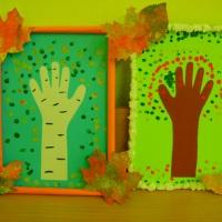 Художественное творчество «Осенние деревья»