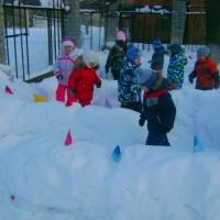 Игры, конкурсы, эстафеты на зимней прогулке