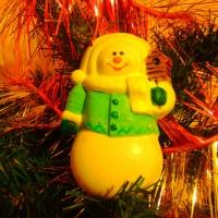 Фотоотчёт «Сувениры, ёлочные игрушки из гипса»
