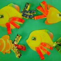Фотоотчёт детских работ «Рыбки в аквариуме»