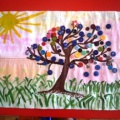 Творческие работы детей разновозрастной группы на весеннюю тему. Фотоотчёт