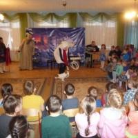 Фотоотчёт «У нас в гостях артисты Оренбургского театра клоунады»