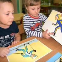 Конспект интегрированной непосредственно-образовательной деятельности по ФЦКМ «Зимние виды спорта» (старший возраст)