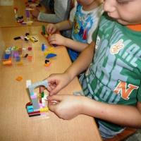Фотоотчёт о продуктивной деятельности по конструированию старших дошкольников на свободную тему