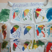 Конспект мероприятия по рисованию гуашью «Зонтик для куклы Маши» во второй младшей группе